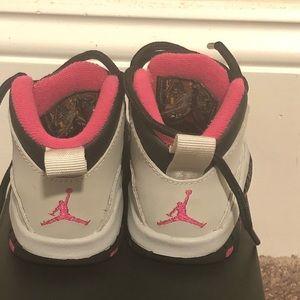 Jordan Shoes - Jordan Retro 10; Toddler Girl 3C